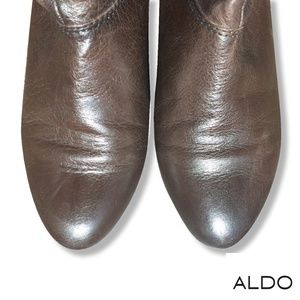 LIKE NEW ALDO Brown slouch boots | Size 7